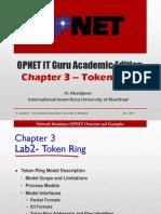 OPNET-Chapter 3Token Ring