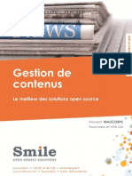 Smile Open-Source CMS report 2013.