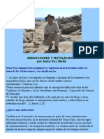 Abducciones y Mutilaciones- Sixto Paz