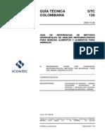 GTC125 analiis microbiologicos
