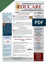 Newsletter Educare nº 18-Diciembre