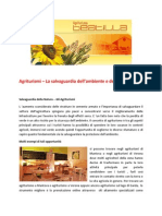 Agriturismi – La salvaguardia dell'ambiente e delle coltivazioni - www.agriturismobeatilla.it
