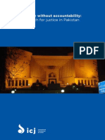 "International Commission of Jurists (ICJ) Report on ""Authority without Accountability"" in Pakistan's Supreme Court"