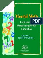 Mental Math