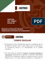 Tiempo Escolar 2013 (Parte 1)