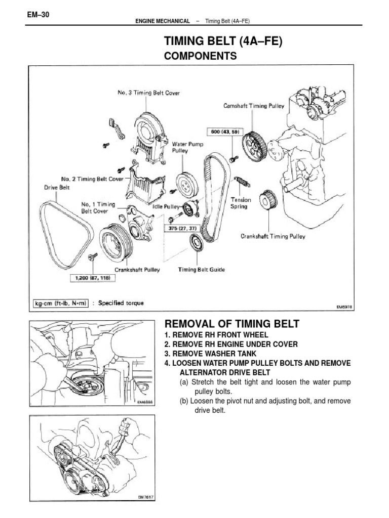 Ford 390 Crank Pulley Diagram Trusted Wiring Diagrams Engine Toyota 4efe Correa De Distribucion Pdf Belt Mechanical Mazda Crankshaft