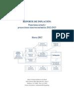 Reporte de Inflacion Marzo 2012