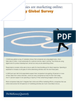 Mckinsey How Companies Are Using Online Marketing