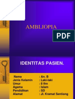AMBLIOPIA Power Point
