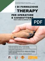 Modulo Corso Pet Terapy