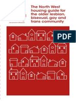 North West Housing Guide for Older Lesbian, Bisexual, gay and trans community
