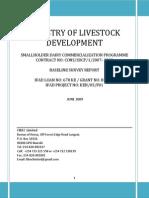 Final SDCP Baseline Report- June 30, 2009