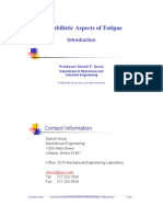 Probabilistic Fatigue