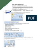 Como fazer formulários digitais no Word 2007