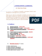 Dr. Christa Todea-Gross - Metode Contraceptive Si Abortive (Avortive)
