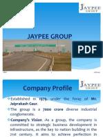 42034581 Presentation on Jaypee