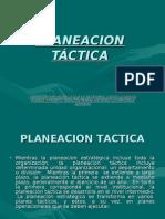 PLANEACION TÁCTICA