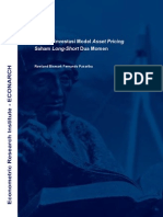 Discussion Paper 05 - Model Asset Pricing Ekuitas Long-Short Dua Moment