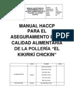 MANUAL HACCP Pollería Kikirikí