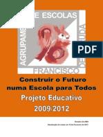 AEFA_Projeto Educativo 2009-2012