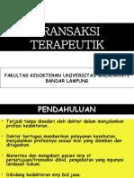 Lecture Transaksi Terapeutik Dan Malpraktek