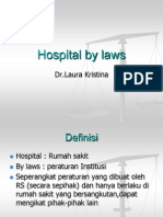 Hospital by Laws