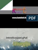 1. Introduzzjoni Ghal Liturgija - Ktk