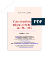 Cours Philo Sens C D E