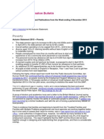 JRF/JRHT Information Bulletin 06/12/2013