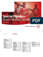 Special Olympics Brand Identity Guidelines