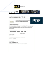 Alutech Aluminium (Pvt) Ltd