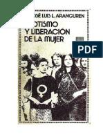 Aranguren, José Luis - Erotismo y liberación de la mujer