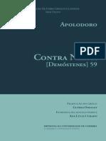 E-Book Apolodoro [Demostenes] 59 Contra Neera