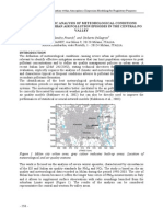 SYSTEMATIC ANALYSIS OF METEOROLOGICAL CONDITIONS CAUSING SEVERE URBAN AIR POLLUTION EPISODES IN THE CENTRAL PO VALLEY