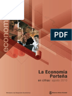 La Economía Porteña en cifras - Agosto 2010