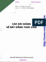 [vnmath.com]-Cac bai giang ve bdt Cosi-Nguyen Vu Luong.pdf