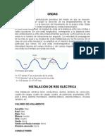 Instalación de red eléctrica