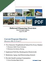 Deferred Financing-BOC Presentation Aug 19 2009-FINAL