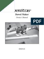 Dowel Maker Instruction