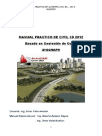 Manual Practico de Civil 3d-Unigraph- Astasio-2012
