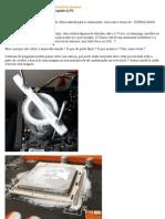 Como diminuir a condensação em Overclock extremo