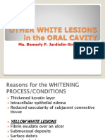 II Other White Lesions in the Oral Cavity