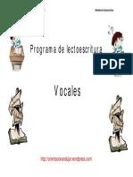 Programa de Lectoescritura Vocales