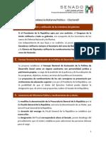 05-12-13 Reforma política - Fundación Senadora María Lavalle Urbina