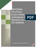 05-12-13 Reforma Política - aprobada el 03 Diciembre 2013