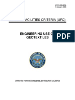 Engineering Use of Geotextiles