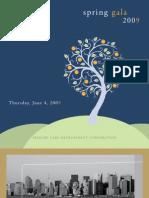 PCDC 2009 Spring Gala Tribute Book