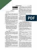 DL. 1156 - Dicta medidas destinadas a garantizar el servicio público de salud en casos que exista riesgo elevado al daño a la salud