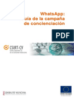 [CSIRTcv] WhatsApp - Guia de utilización segura