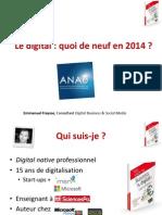 Les Tendances Du Digital 2014-ANAE
